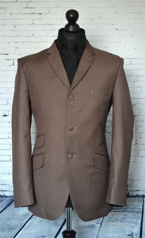 THE MODCLOTHIN ITALIAN MOD FIT 3 BUTTON SUIT & SHIRT OFFER  - suitandshirt
